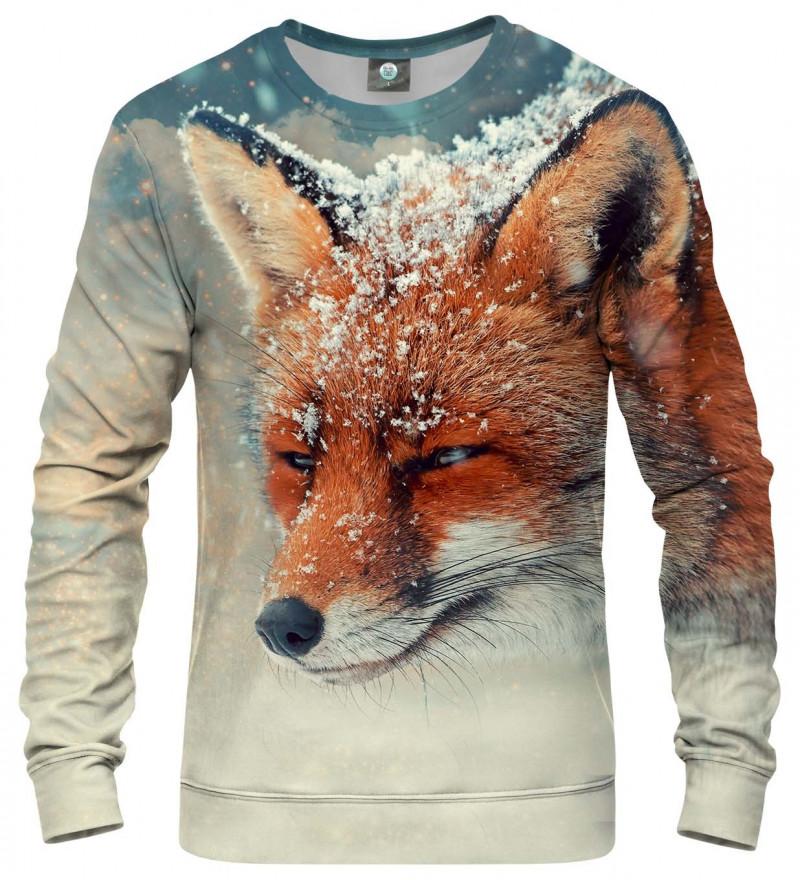 bluza z motywem lisa