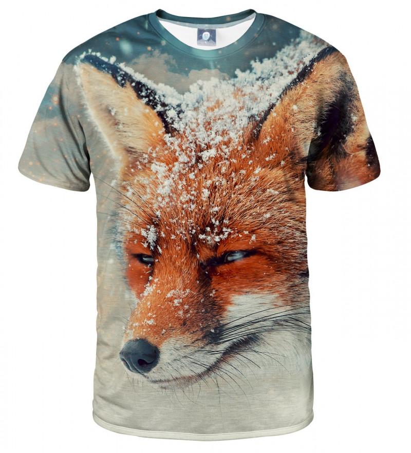 koszulka z motywem lisa