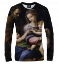 bluza damska z motywem świętej kobiety
