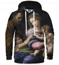 sweatshirt with holy women motive