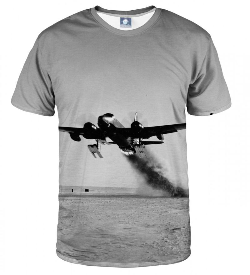 koszulka z motywem samolotu
