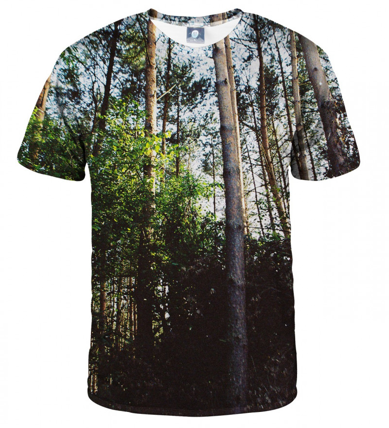 tshirt with forest motive