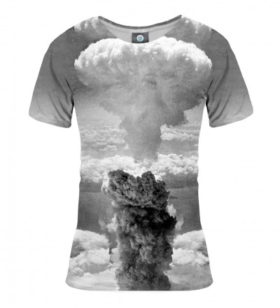 grey tshirt with explosion motie