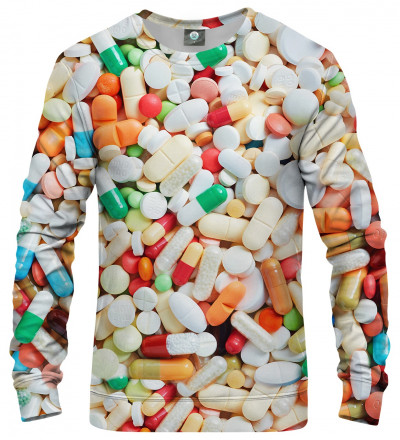 sweatshirt with pillz motive
