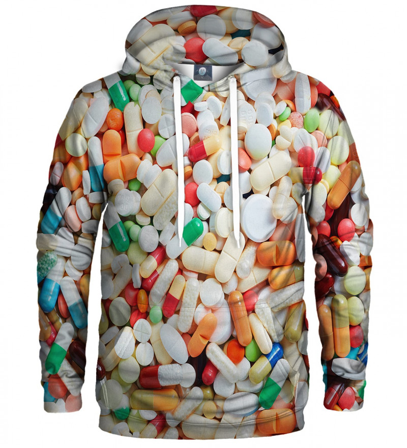 hoodie with pills motive