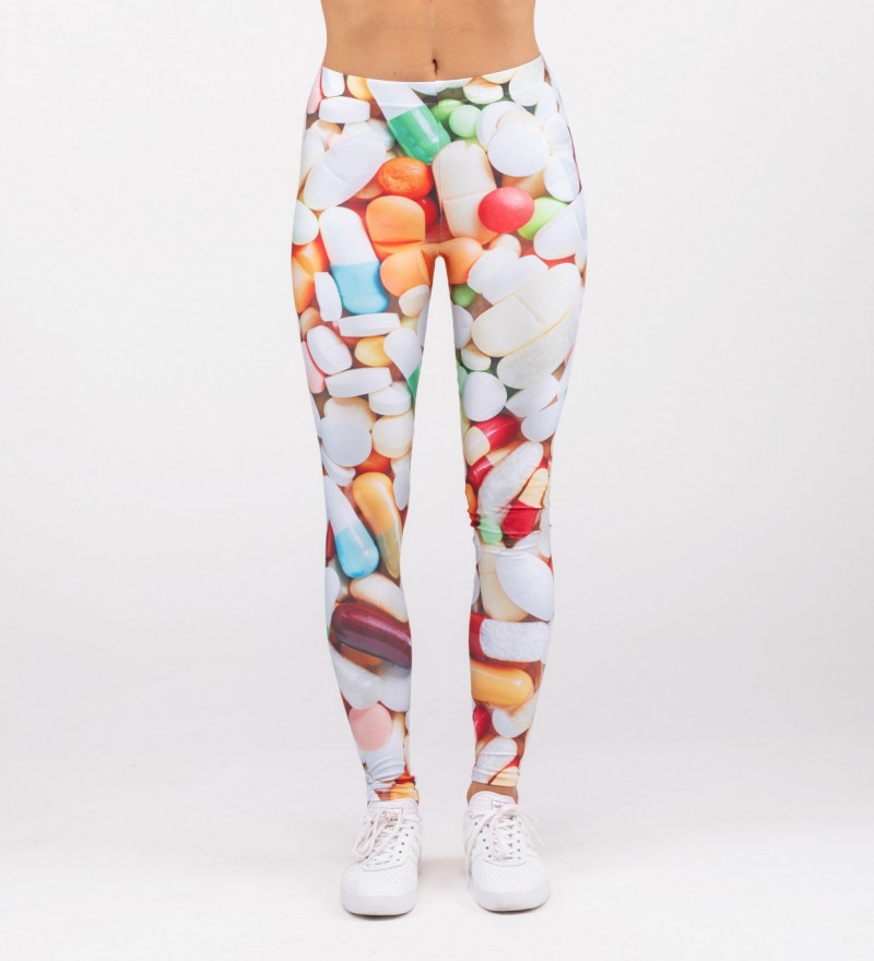 leggings with pills motive