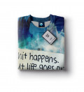 Shit happens women sweatshirt