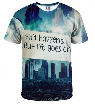 tshirt with city and shir inscription motive