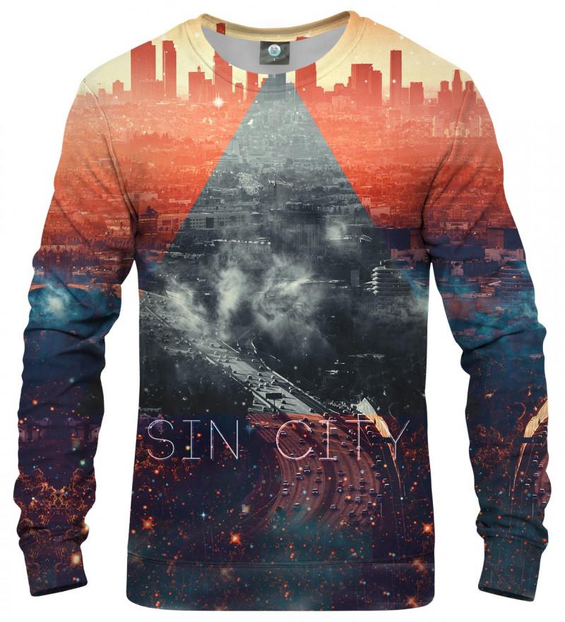 sweatshirt with sin city motive