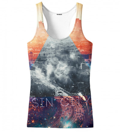 tank top with sin city motive