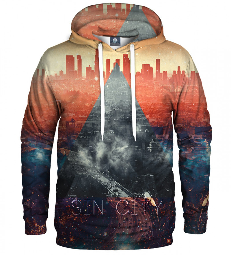 hoodie with sin city motive