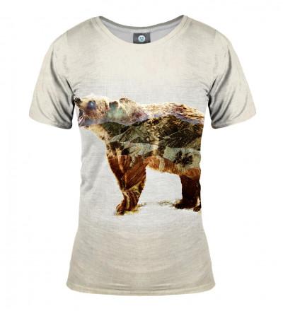 koszulka z motywem niedźwiedzia