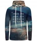 Exhale women hoodie