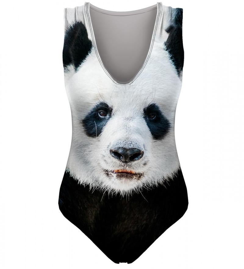 strój kąpielowy z motywem pandy