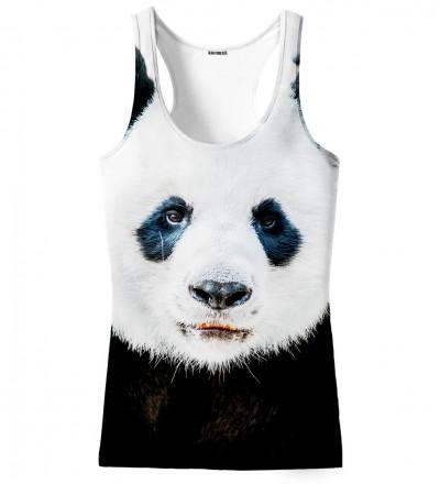 tank top with panda motive