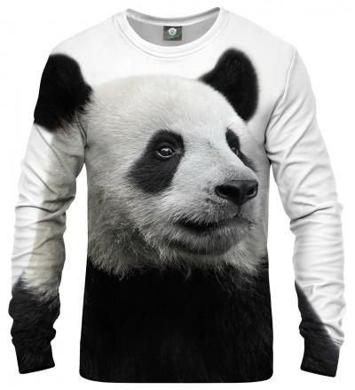 sweatshirt with panda motive