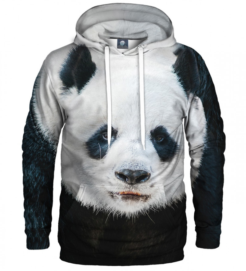 hoodie with panda motive