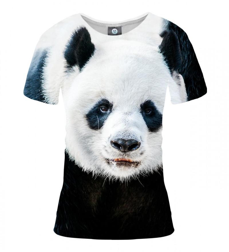 women tshirt with panda motive