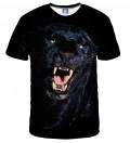 koszulka z motywem czarnej pantery