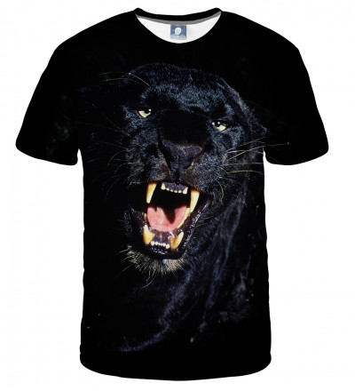 tshirt with black panther motive