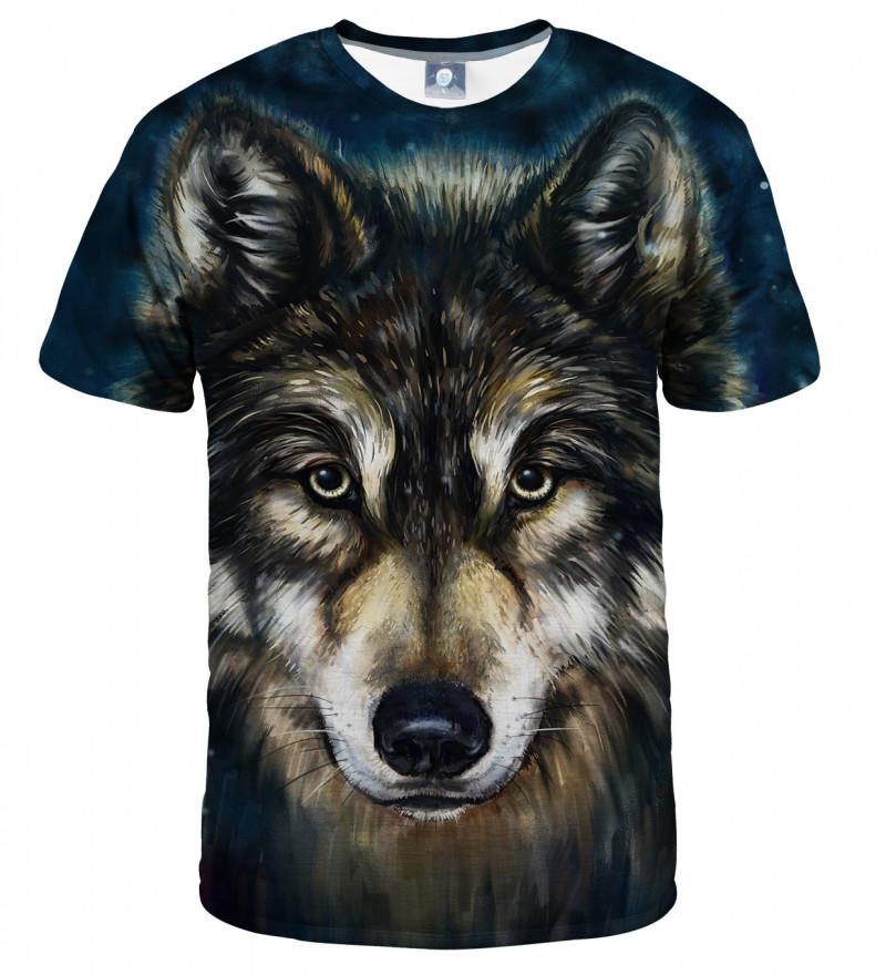 koszulka z motywem wilka