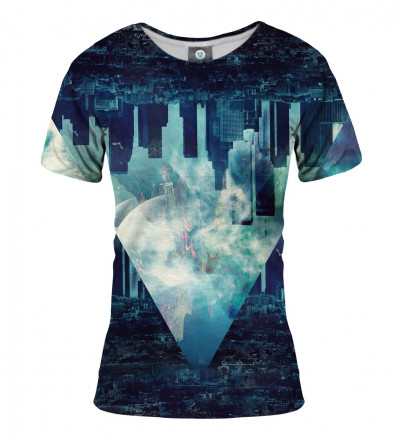 women tshirt with city motive