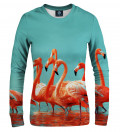 Flamingos women sweatshirt