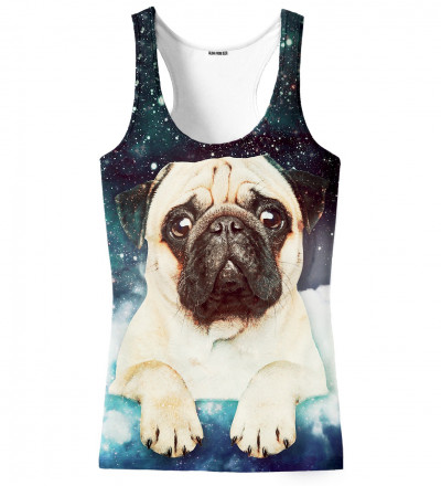 tank top with cute dog