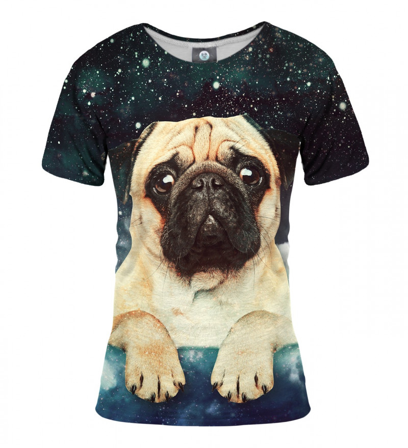 tshirt with cute dog and stars