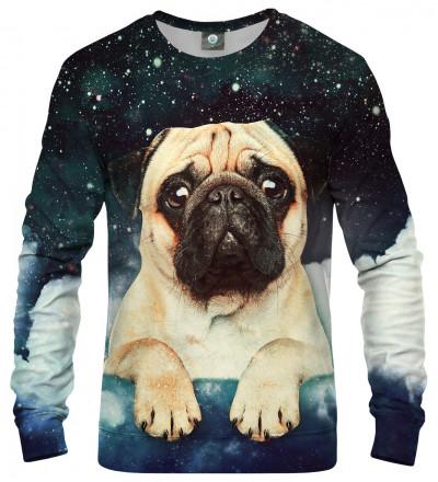 sweatshirt with cute dog and stars