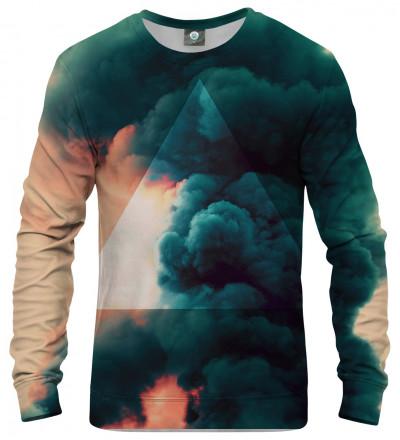 sweatshirt with clouds motive