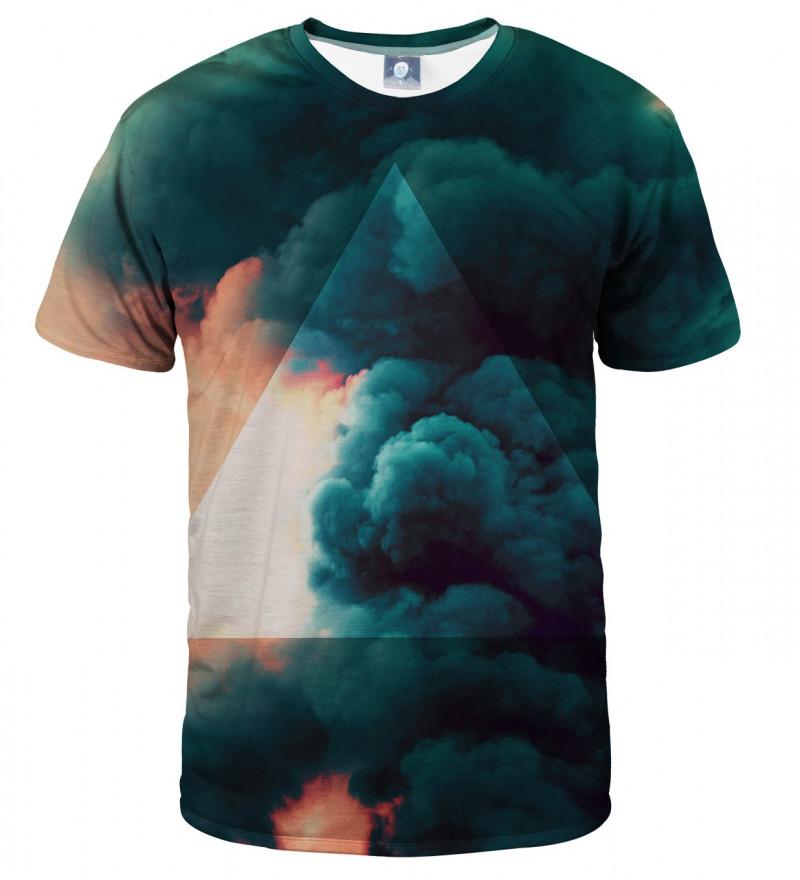 koszulka z motywem chmur