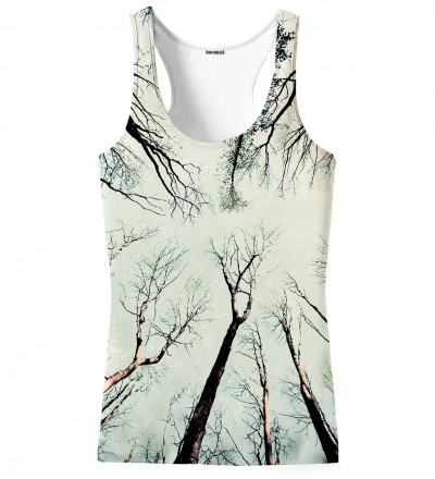 tank top with branches motive