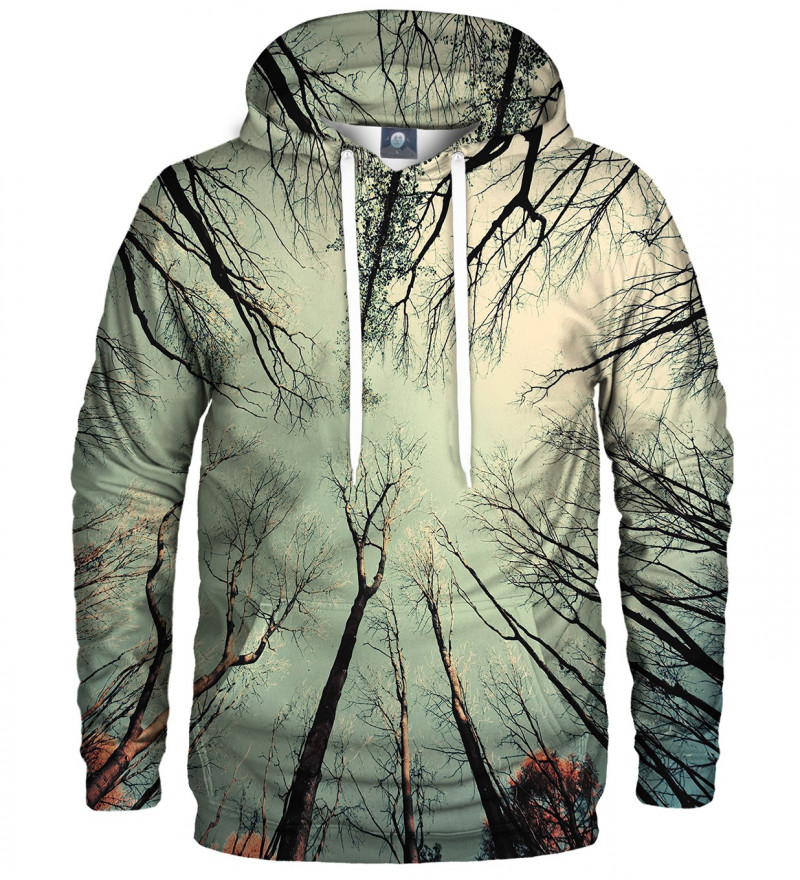 hoodie with branches motive