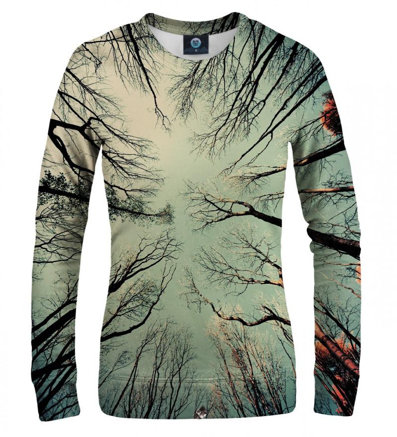 women sweatshirt with branches motive