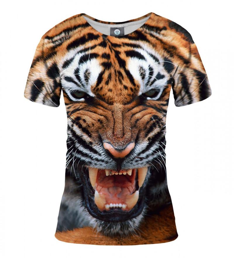 women tshirt with tiger motive