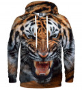 hoodie with tiger motive