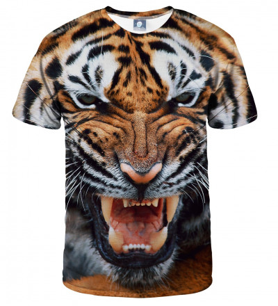 tshirt with tiger motive