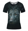 damska koszulka z motywem wilka