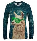 women sweatshirt with lama motive
