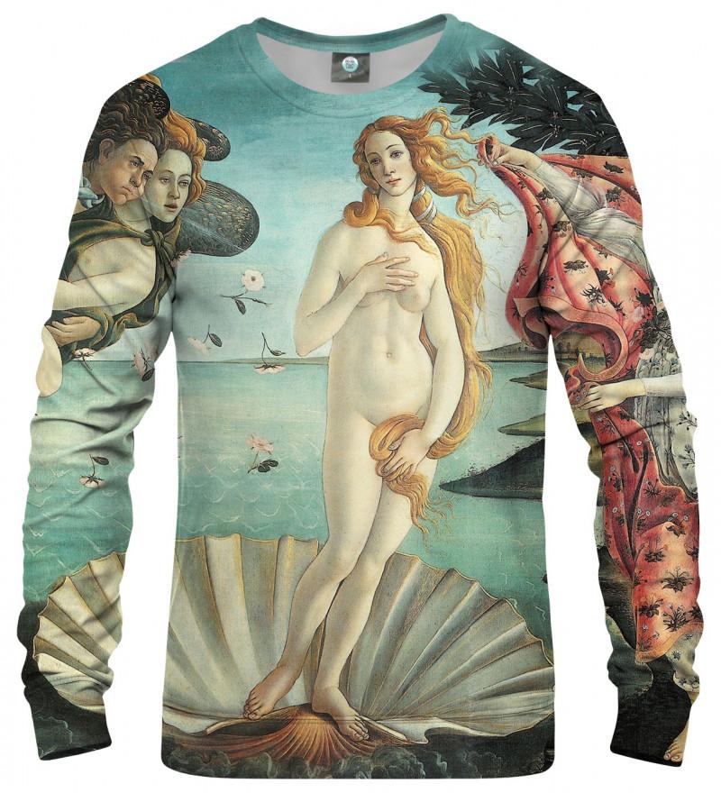 "bluza z motywem obrazu ""narodziny venus"""