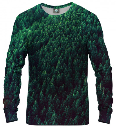 sweatshirt with forest motive