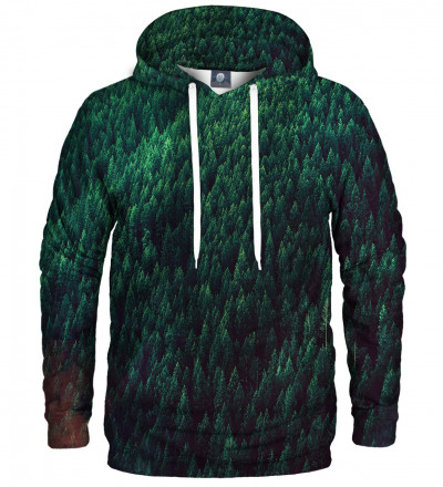 hoodie with forest motive