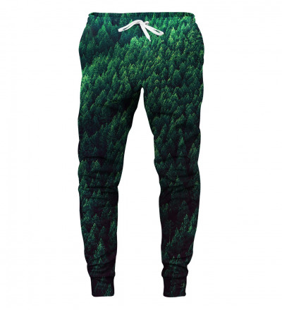 sweatpants with forest motive