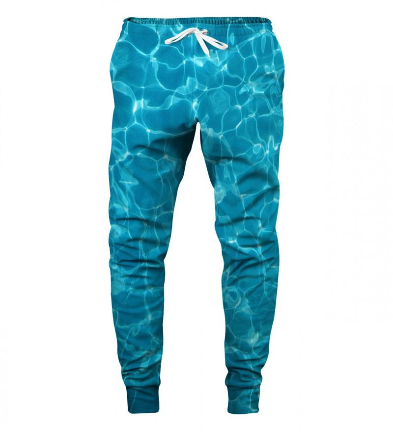 sweatpants with pool motive