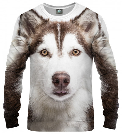 sweatshirt with husky motive