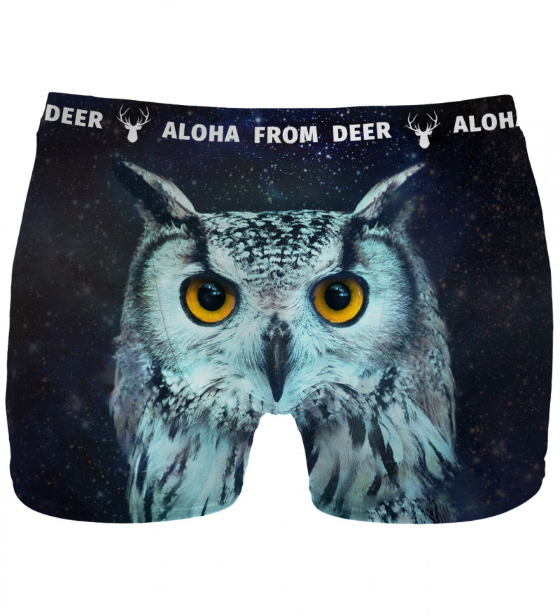 underwear with owl motive
