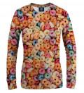 sweatshirt with cereals motive