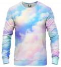 bluza z motywem kolorowych chmur