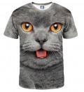 T-shirt British cat
